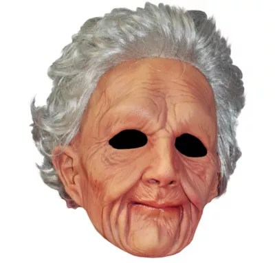 Old Woman Mask  Party City