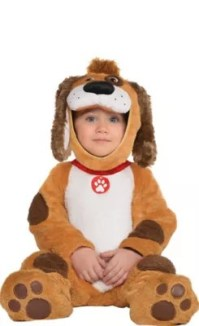 Baby Playful Pup Dog Costume - Party City