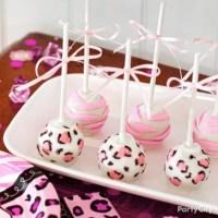 Girl Baby Shower Jungle Theme Cake Pops Idea - Party City ...