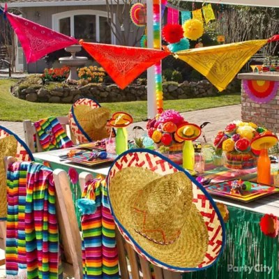 Fiesta Party Decoration Ideas