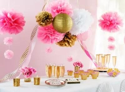 Sparkling Bridal Shower Party Ideas