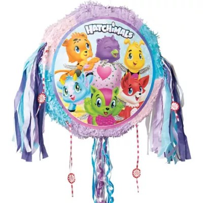 pull string hatchimals pinata