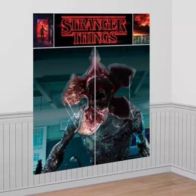 Stranger Things Demogorgon Scene Setter 5 12ft X 6 14ft Party City