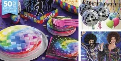 Disco 70s Theme Party Supplies