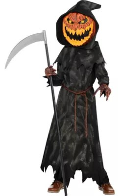 Boys Jack O Lantern Reaper Costume Party City