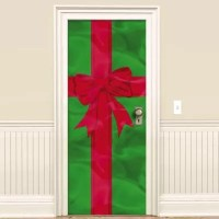Christmas Gift Door Decoration 78in x 36in
