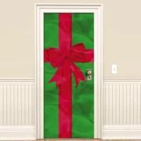 Christmas Gift Door Decoration 78in x 36in