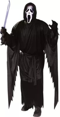 Adult Ghost Face Costume Scream Party City