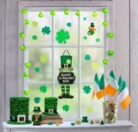 St. Patrick's Day Super Window Decorating Kit - St ...