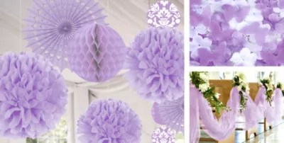 Lilac Wedding Decorations  Party City Canada