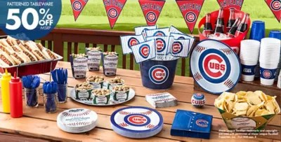 MLB Chicago Cubs Party Supplies Party City