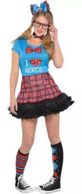 Women's Geek Chic Nerd Costume Accessories
