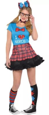 Women's Geek Chic Nerd Costume Accessories