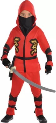 Toddler Boys Fire Dragon Ninja Costume  Party City
