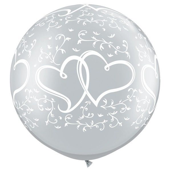 Qualatex ProfiLatexballon Jumbo Hochzeit  Liebe Herzen