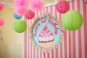 Rocio Marie's Cupcake Themed Party – 1st Birthday