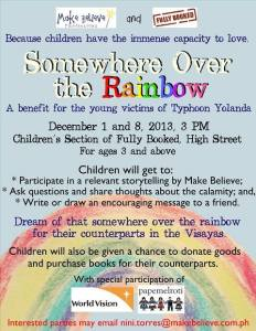 """Somewhere Over The Rainbow"" Charity Event"