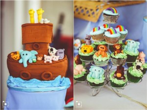 Vayil's Noah's Ark Themed Party – Baptismal Celebration
