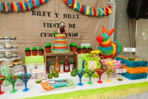 Riley and Dilly's Mexican Fiesta Themed Party