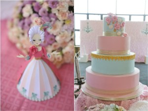 Carinne's Marie Antoinette Themed Party – 1st Birthday