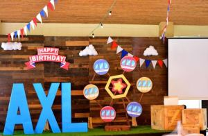 Axl's Country Fair Themed Party – 1st Birthday