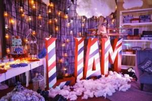 Liam's Vintage Plane Themed Party – Baptismal Celebration