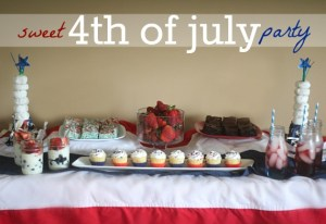 {Guest Post} 4th of July DIY Party – Celebrate in honor of the red, white, and blue!