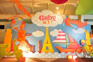 Gaby's Neon Travel Themed Party – 1st Birthday