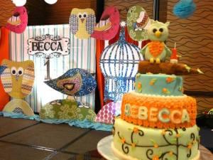 Rebecca's Boho-Chic Owl Themed Party – 1st Birthday