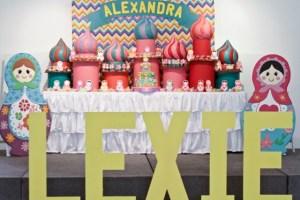 Lexie's Matryoshka Doll Themed Party -1st Birthday