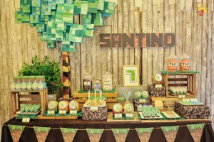 Santino's Minecraft Themed Party – 7th Birthday