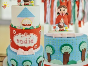 Andie's The Little Red Riding Hood Themed Party – 1st Birthday
