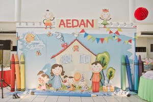 Aedan's Kiddie Doodle Art Themed Party – 1st Birthday