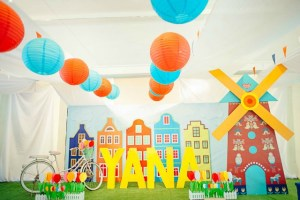 Yana's Dutch Themed Party – 1st Birthday