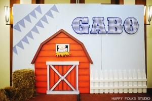 Gabo's Barnyard Themed Party – 1st Birthday