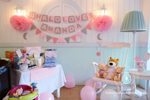 Celebrity Amanda Griffin-Jacob's Sweet Dreams Inspired Baby Shower