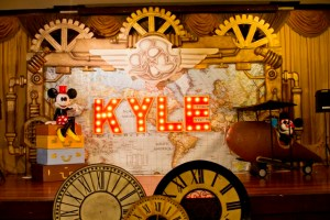 Kyle's Mickey Mouse Steampunk Themed Party – 1st Birthday