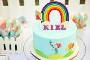 Kiel's Kite-themed party – 1st Birthday