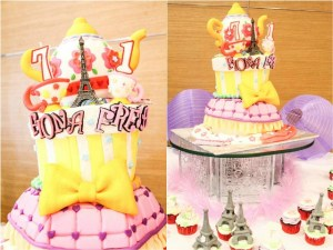 Fiona and Freja's Fancy Nancy Themed Party – 1st and 7th Birthday