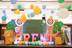 Brent's Little Archer Themed Party – 1st Birthday