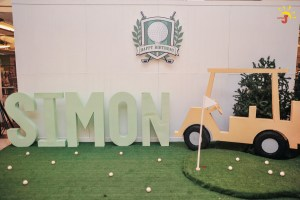 Simon's Golf Themed Party – 1st Birthday