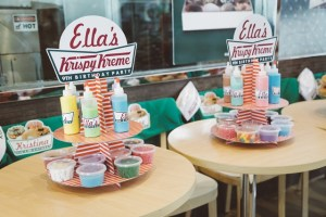 Ella's Krispy Kreme Party – 9th Birthday