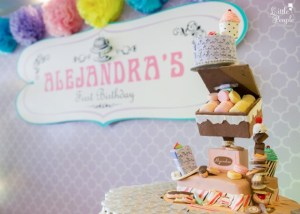 Alejandra's Candy Boutique and Patisserie Themed Party – 1st Birthday