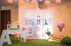 Audrey's Dollhouse Themed Party – 3rd Birthday