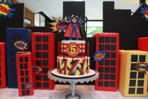 Lex, Grey and Ti's Superheroes Themed Party – 5th Birthday