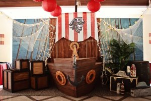 Liam's Pirate Adventure Themed Party – 1st Birthday