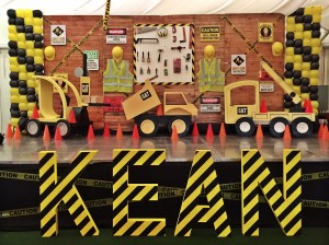 Kean's Construction Themed Party – 1st Birthday