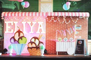 Eliya's Ice Cream Themed Party – 4th Birthday