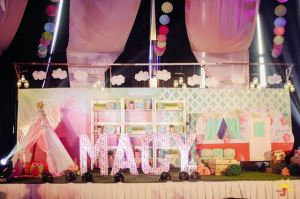 Macy's Glam Camping Themed Party – 1st Birthday
