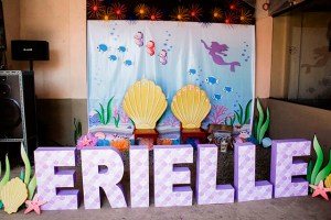 Erielle's Mermaid Themed Party – 1st Birthday